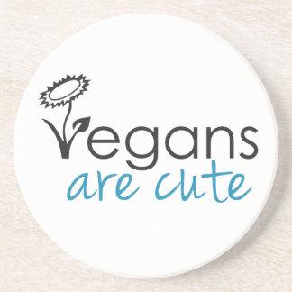 Vegans sind niedlich - fertigen Anwälte Getränkeuntersetzer