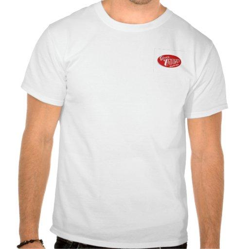 Vegas-Abenteuer-kosmische Bowlings-T-Shirt