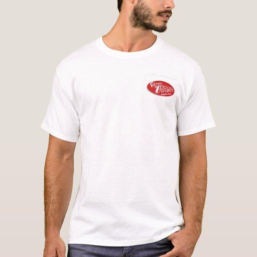 Vegas-Abenteuer-kosmische Bowlings-T-Shirt T-Shirt