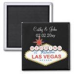 Vegas, der Save the Date Magneten wedding ist
