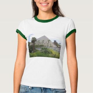 Vegas-GRÜN-Show: Pyramide, Innenraum, skyview T - T-Shirt