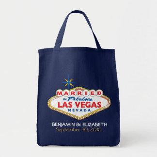 Vegas-Hochzeit in Urlaubsorts-GedenkTasche Tragetasche