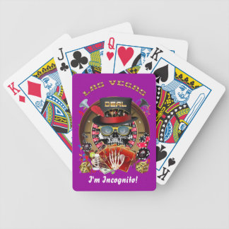 Vegas Ingognito alle Arten Ansicht-Andeutungen Poker Karten
