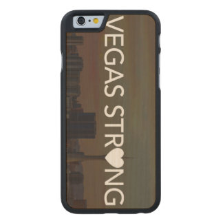 Vegas stark carved® iPhone 6 hülle ahorn