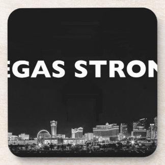 Vegas stark getränkeuntersetzer