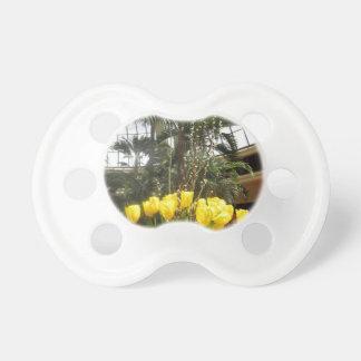 VEGASinnendekorationen TULPE-Blumen bunt Schnuller