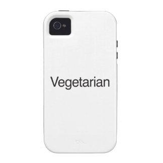 Vegetarier Case-Mate iPhone 4 Hüllen