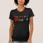 Vegetarier-Felsen T-Shirts