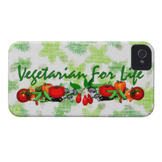 Vegetarier für das Leben Case-Mate iPhone 4 Hüllen