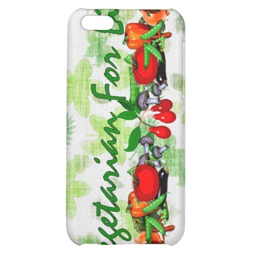 Vegetarier für das Leben iPhone 5C Hüllen