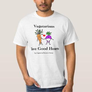 Vegetarier haben gutes Herz-T-Stück 2 T Shirt