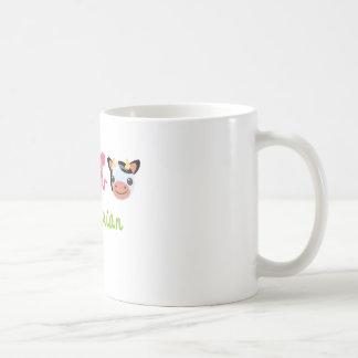 Vegetarier Kaffeetasse
