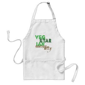 Vegetarier natürlich schürze