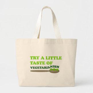 Vegetarische Erbsen Jumbo Stoffbeutel