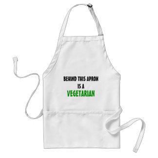Vegetarische Schürze