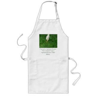 Vegetarisches Küken - besonders angefertigt Lange Schürze