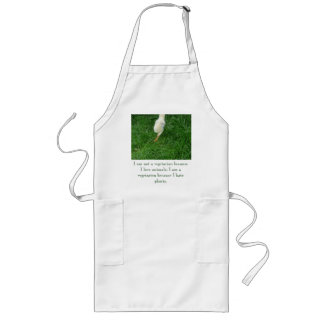 Vegetarisches Küken - besonders angefertigt Schürze