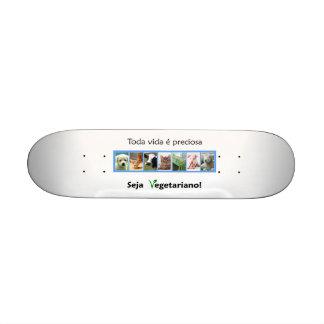 Vegetarisches Skateboard Skateboard Brett