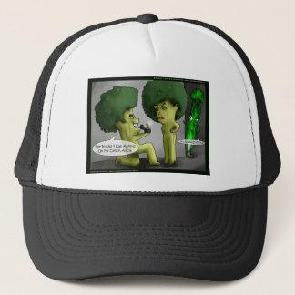 Veggie-Antrag-lustige Geschenk-Karten-T-Shirts u. Truckerkappe