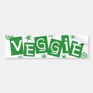 Veggie, für Vegetarier-und Vegans-Autoaufkleber Autoaufkleber