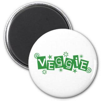 Veggie, für Vegetarier und Vegans-Magneten Magnete