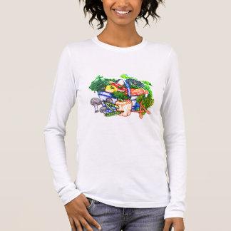 Veggie-Korb Langarm T-Shirt
