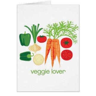 Veggie-Liebhaber-gemischtes Frischgemüse Karte