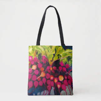 Veggie-Malerei-Tasche Tasche