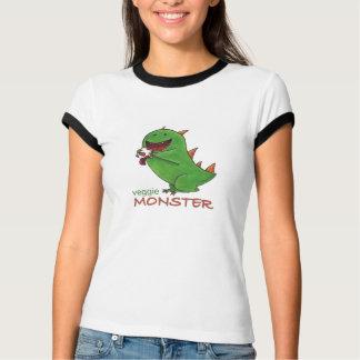Veggie-Monsterdamen-Shirt T-Shirt