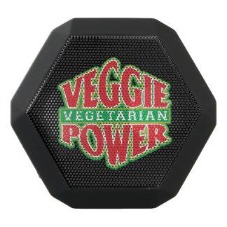 Veggie-Power Schwarze Bluetooth Lautsprecher