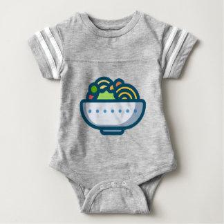 Veggie-Salat Baby Strampler