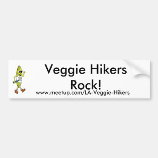 Veggie-Wanderer-Felsen! Autosticker