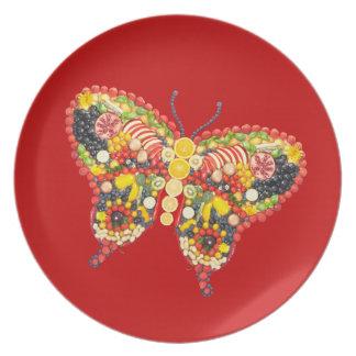 VeggieArt Schmetterling Melaminteller