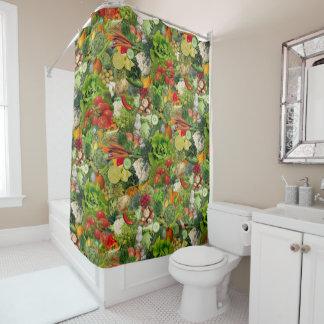 Veggies Duschvorhang