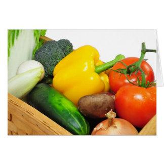 Vegtables in a-Korb Karte