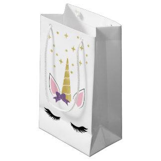Veilchen die Einhorn-kleine Tasche Kleine Geschenktüte