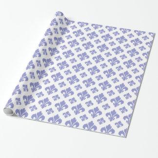 Veilchen-Tulpe der Lilien-2 Geschenkpapierrolle