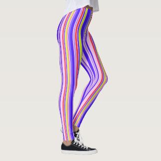 Vektor Stripes nahtloses Muster Leggings