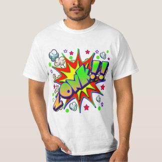 VektorComic-Buch ZONK T-Shirt