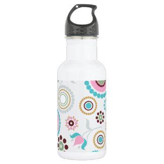 VektorRetro Muster Background.jpg Trinkflasche
