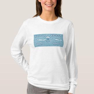 Velera Vintager Aufkleber T-Shirt