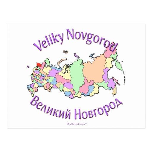 Veliky Novgorod Postkarten