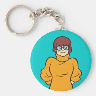 Velma Pose 16 Standard Runder Schlüsselanhänger