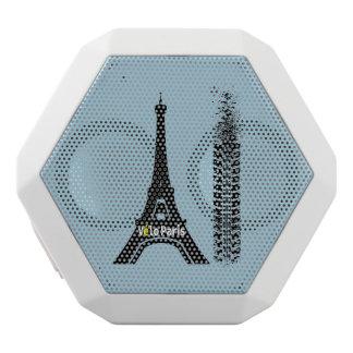 Velo Paris Fahrrad-Eiffelturm Weiße Bluetooth Lautsprecher