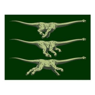 Velocibrachiosaurus III Postkarte