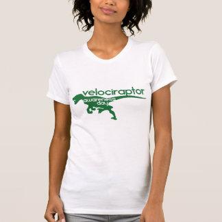 Velociraptor-Bewusstseins-Tag T Shirts