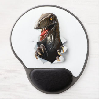 Velociraptor-Dinosaurier-Gel-Mausunterlage Gel Mousepad