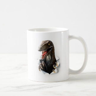 Velociraptor-Dinosaurier-Klassiker-Tasse Kaffeetasse