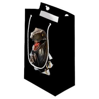 Velociraptor-Dinosaurier-kleine Geschenk-Tasche Kleine Geschenktüte