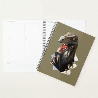 Velociraptor-Dinosaurier-Spiralen-Planer Planer